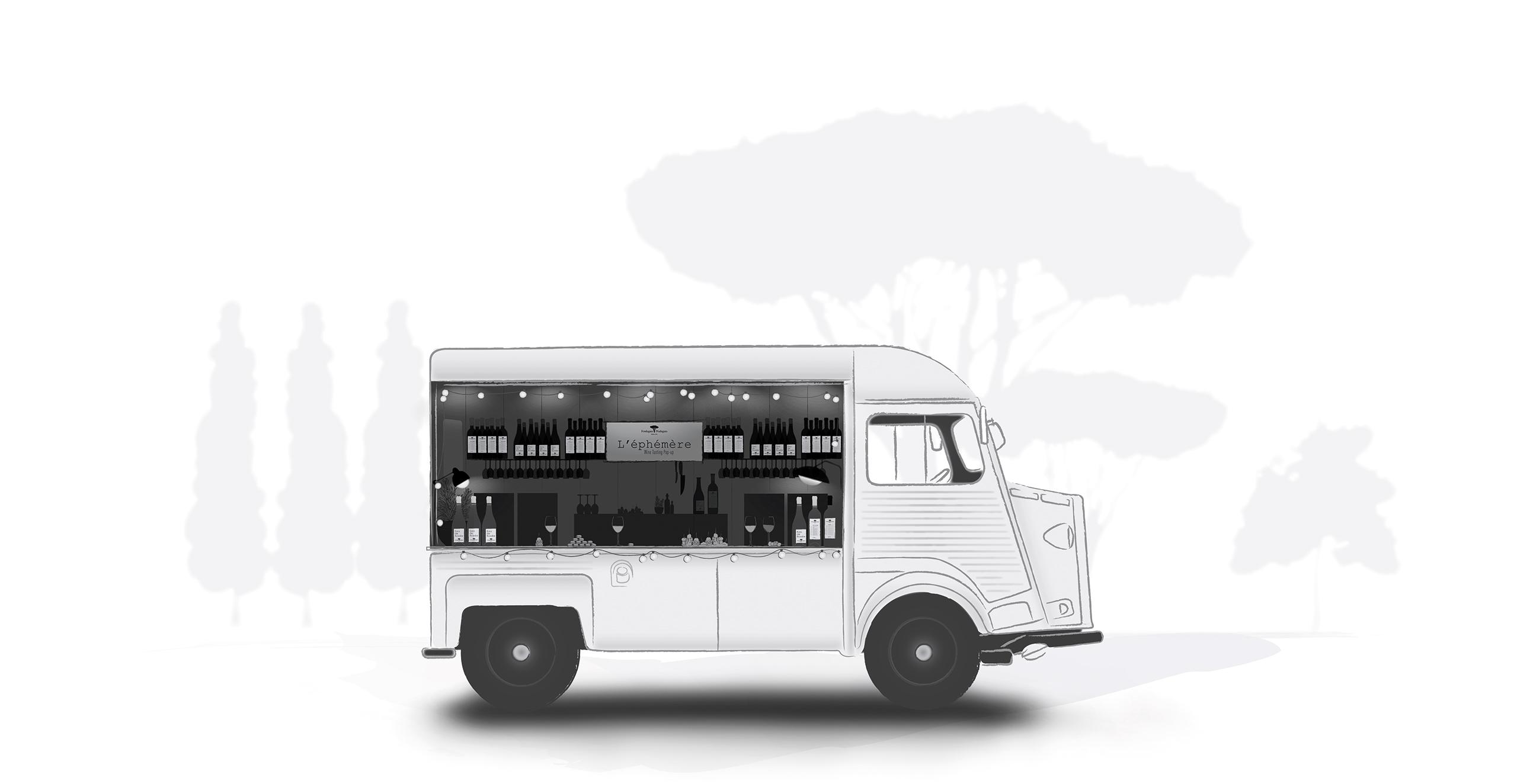 L'éphémère truck
